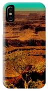 The Grand Canyon Vintage Americana Vi IPhone Case