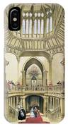 The Grand Staircase, Windsor Castle IPhone Case