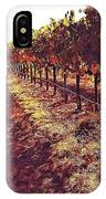 The Grapes Of The Wine Country IPhone Case
