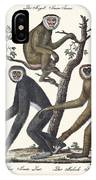 The Great Gibbon IPhone Case