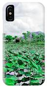 The Great Lotus Flower Pond IPhone Case