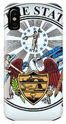 The Great Seal Of The State Of Arkansas IPhone Case