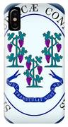 The Great Seal Of The State Of Connecticut IPhone Case