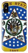The Great Seal Of The State Of Oklahoma IPhone Case
