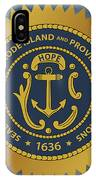 The Great Seal Of The State Of Rhode Island IPhone Case