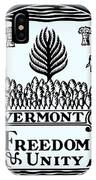 The Great Seal Of The State Of Vermont IPhone Case