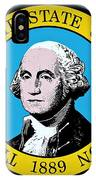 The Great Seal Of The State Of Washington IPhone Case