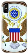 The Great Seal Of The United States  IPhone Case
