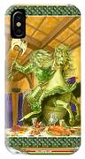 The Green Knight Christmas Card IPhone Case