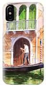 The Green Shutters - Venice IPhone Case