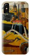 The Guns Of Hms Victory IPhone Case