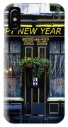 The Happy New Year 2014 Pub IPhone Case