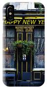 The Happy New Year Pub IPhone Case