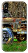 The Hard Headed Ford Work Horses. IPhone Case
