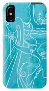 The Harp Player IPhone Case