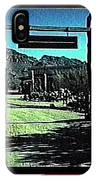 The High Chaparral Set  1984 Collage Old Tucson Arizona 1984-2012 IPhone Case