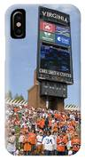 The Hill At Scott Stadium Uva IPhone Case
