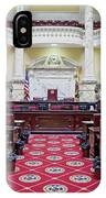 The Historic House Chamber Of Maryland IPhone Case