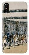 The Horse Armour Tower, Print Made IPhone Case