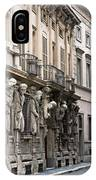 The House Of Omenoni Milan Italy IPhone Case
