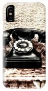 The House Phone IPhone Case