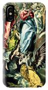 The Immaculate Conception IPhone Case
