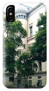 The Jefferson Building Courtyard IPhone Case