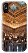 The Jefferson Building Library Of Congress IPhone Case
