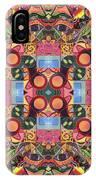 The Joy Of Design Mandala Series Puzzle 2 Arrangement 1 IPhone Case