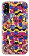 The Joy Of Design Mandala Series Puzzle 3 Arrangement 8 IPhone Case