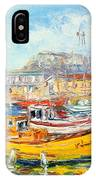 The Kalk Bay Harbour IPhone Case