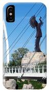 The Keeper Of The Plains In Wichita IPhone Case
