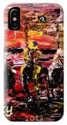 The Kentucky Derby - And They're Off  IPhone Case