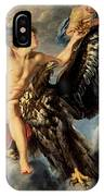 The Kidnapping Of Ganymede IPhone Case