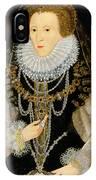 The Kitchener Portrait Of Queen IPhone Case