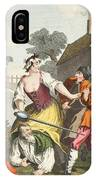 The Knight Submits To Trulla IPhone Case