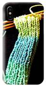 The Knitting IPhone Case