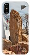The Largest Petrified Wood IPhone Case