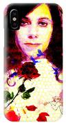 The Last Living Rose IPhone Case