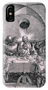 The Last Supper From The 'great Passion' Series IPhone Case