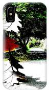 The Leaves Will Soon Start To Fall  IPhone Case