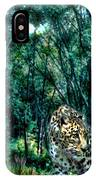 The Leopard Is Hungry IPhone Case