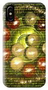 The Light Pantoum Poem IPhone X Case