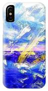 The Lighthouse Through Turbulent Waters IPhone Case