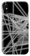 The Lines Of Martha Graham L Bw IPhone Case