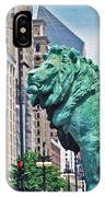 The Lions Of Chicago IPhone Case