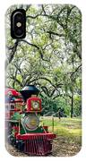The Little Engine That Could - City Park New Orleans IPhone Case