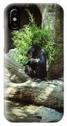 The Lone Chimp IPhone Case