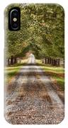 The Long Drive IPhone Case
