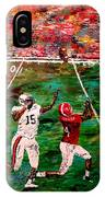 The Longest Yard - Alabama Vs Auburn Football IPhone Case